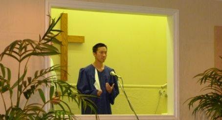 Testimony from Baptismal